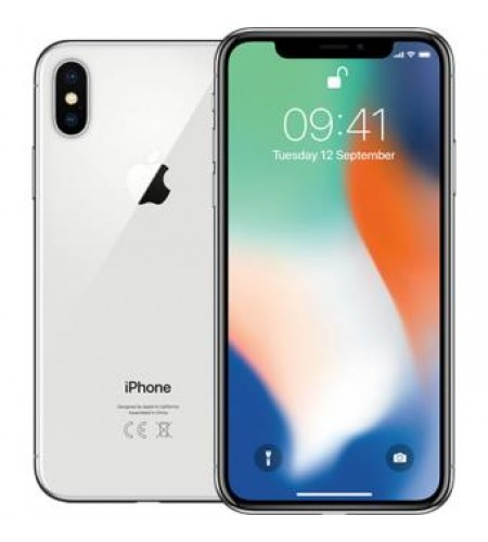 Iphone X - 64GB - PRATEADO